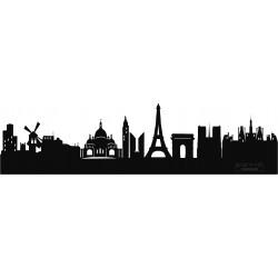 SAGOMATA ® - Lampada skyline Parigi CONSEGNA GRATIS IN TUTTA ITALIA